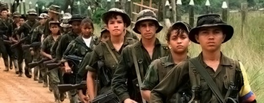 Niños en las FARC