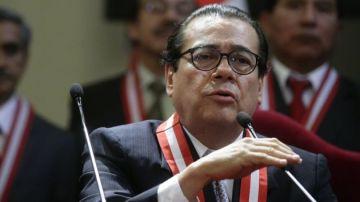Enrique Mendoza, presidente del PJ peruano  (foto: Perú 21)