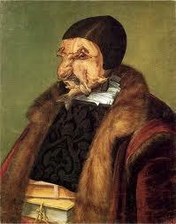 El jurista, de Giuseppe Arcimboldo (1566).