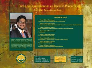 Renzo Cavani - Curso de derecho probatorio UNMSM