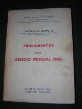 Eduardo Couture - Fundamentos del derecho procesal civil