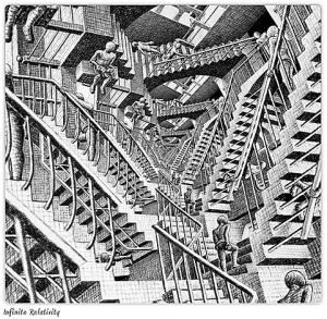Laberinto de Escher (¿habrá imaginado en la regulación del CPC peruano para crearlo?)