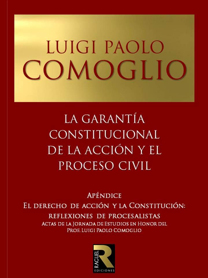 Luigi Paolo Comoglio tapa nueva