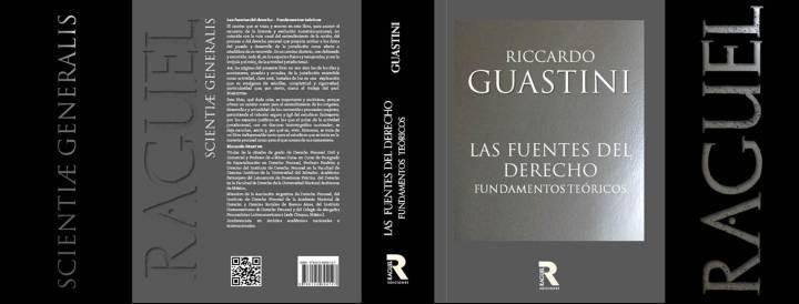 Riccardo Guastini - Las fuentes del derecho tapa y contratapa