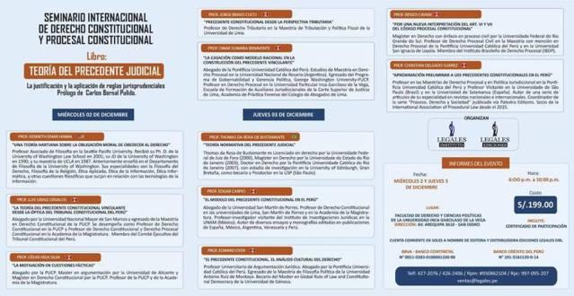 Seminario Internacional - Thomas Bustamante