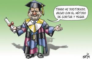 Carlín - El doctorado de Acuña